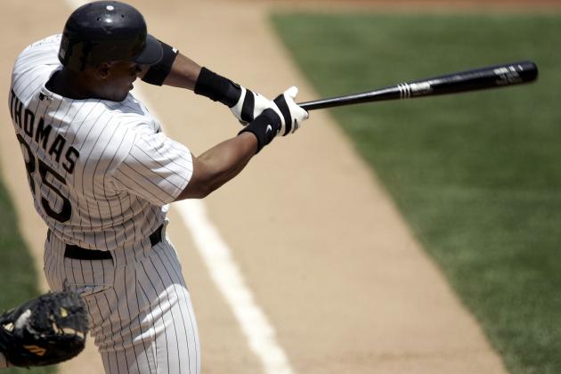Chicago White Sox Frank Thomas Has No Sympathy for Players Who Used Steroids