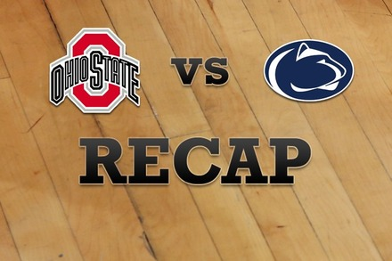 Ohio State vs. Penn State: Recap and Stats