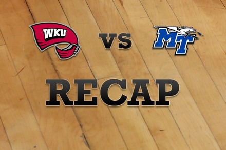 Western Kentucky vs. Middle Tenn State: Recap and Stats