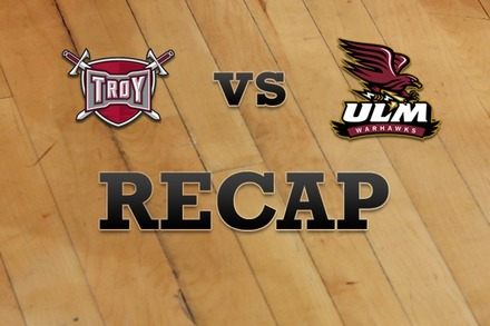 Troy vs. Louisiana-Monroe: Recap and Stats