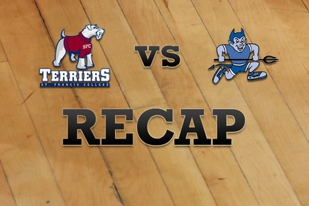 St. Francis (NY) vs. Central Conn. : Recap and Stats