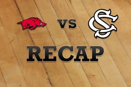 Arkansas vs. South Carolina: Recap and Stats