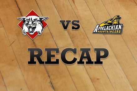 Davidson vs. Appalachian State: Recap and Stats