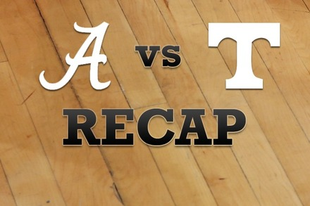 Alabama vs. Tennessee: Recap and Stats