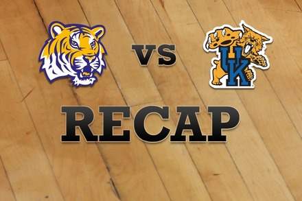 LSU vs. Kentucky: Recap and Stats