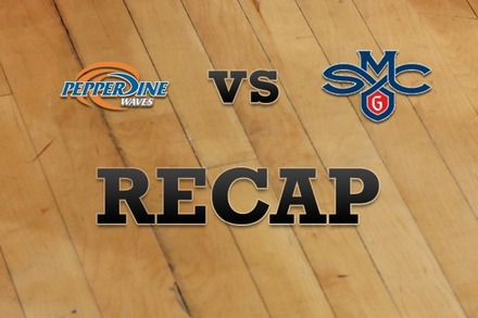 Pepperdine vs. Saint Mary's: Recap and Stats