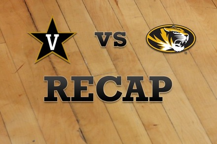 Vanderbilt vs. Missouri: Recap and Stats