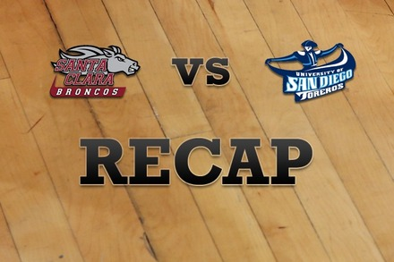 Santa Clara vs. San Diego: Recap and Stats