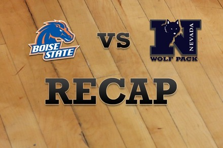 Boise State vs. Nevada: Recap and Stats