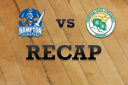 Hampton vs. Norfolk State: Recap and Stats