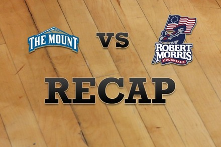 Mount St. Mary's vs. Robert Morris : Recap and Stats