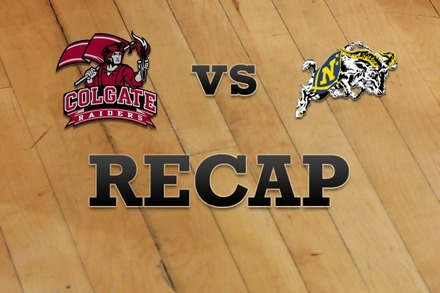 Colgate vs. Navy: Recap and Stats