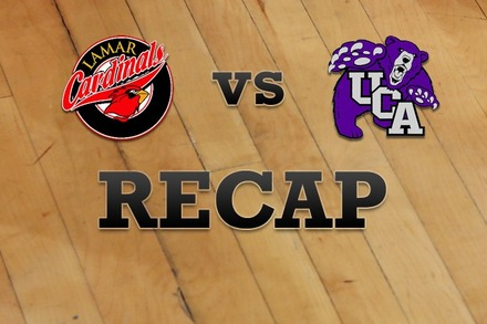 Lamar vs. Central Arkansas: Recap and Stats
