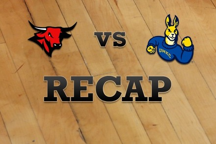 Nebraska-Omaha vs. UMKC: Recap and Stats