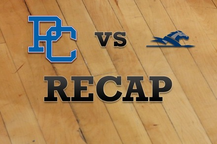 Presbyterian vs. Longwood: Recap and Stats