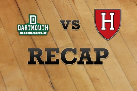 Dartmouth vs. Harvard: Recap and Stats