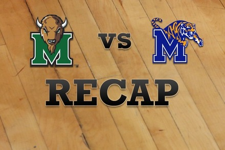 Marshall vs. Memphis: Recap and Stats