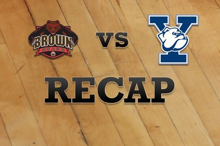 Brown vs. Yale: Recap and Stats