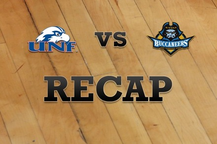North Florida vs. East Tenn State: Recap and Stats