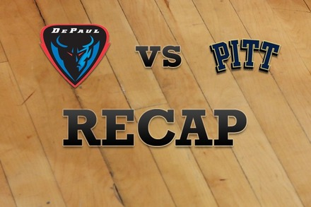 DePaul vs. Pittsburgh: Recap and Stats
