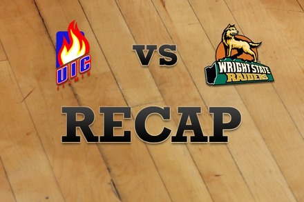 Illinois-Chicago vs. Wright State: Recap and Stats