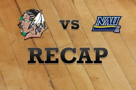 North Dakota vs. Northern Arizona: Recap and Stats