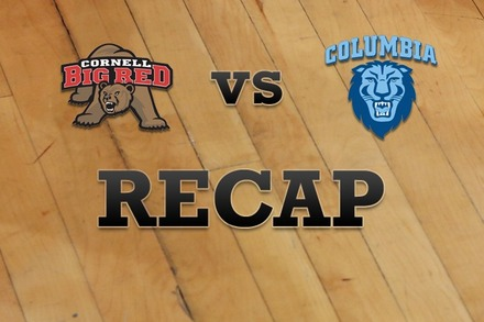 Cornell vs. Columbia: Recap and Stats