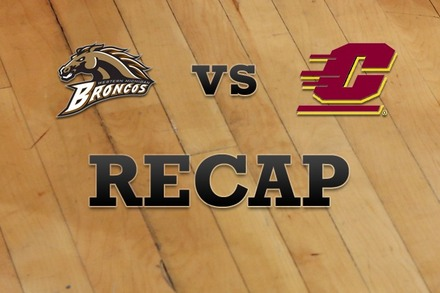 Western Michigan vs. Central Michigan: Recap and Stats