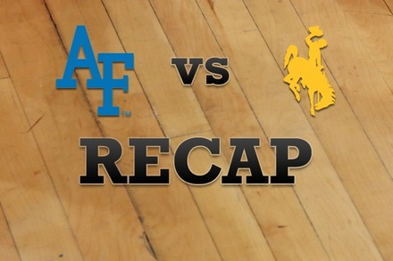 Air Force vs. Wyoming: Recap and Stats