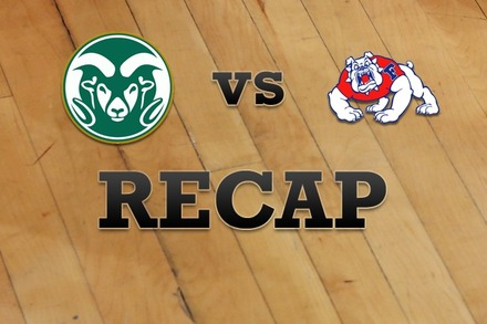 Colorado State vs. Fresno State: Recap and Stats