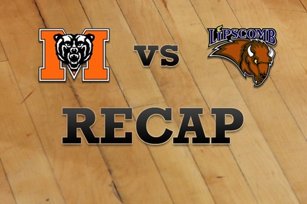 Mercer vs. Lipscomb: Recap and Stats