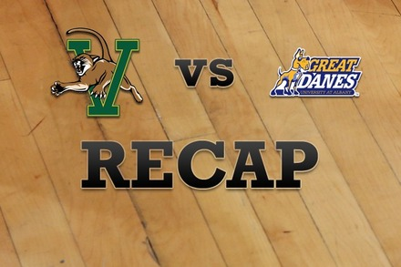 Vermont vs. Albany: Recap and Stats