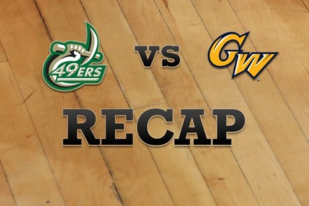 Charlotte vs. George Washington: Recap and Stats
