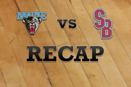 Maine vs. Stony Brook: Recap and Stats