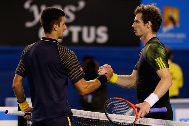Australian Open 2013 Men's Finals: Results for Novak Djokovic vs. Andy Murray