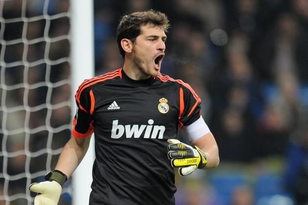 Real Madrid Players Show Casillas Support with Pre-Game Shirts
