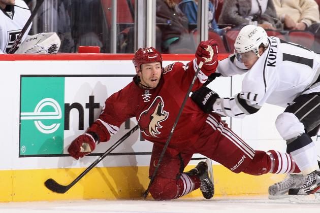 Phoenix Coyotes Fall Short Against Los Angeles Kings