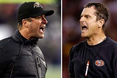 Gutsy Moves Made by John and Jim Harbaugh, Super Bowl Brothers, Pay off