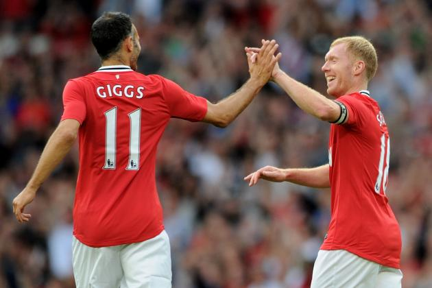 Man Utd Checked with Giggs & Scholes Before Signing van Persie