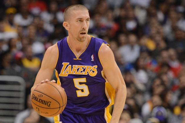 Steve Blake Says He'll Be Back for the Lakers This Tuesday