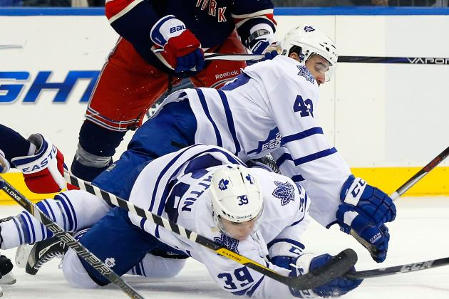 Maple Leafs Blow Lead for 2nd Straight Game in Loss to New York Rangers