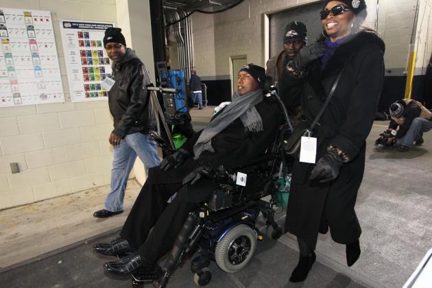 O.J. Brigance Inspires Ravens as He Battles Lou Gehrig's Disease