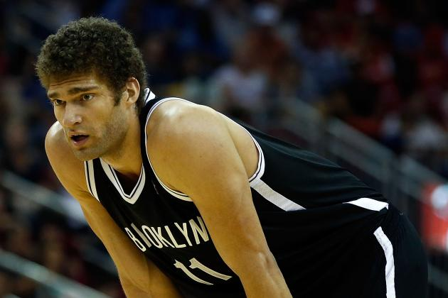 Nets' Brook Lopez Emerging After Season of Injuries and Trade Rumors