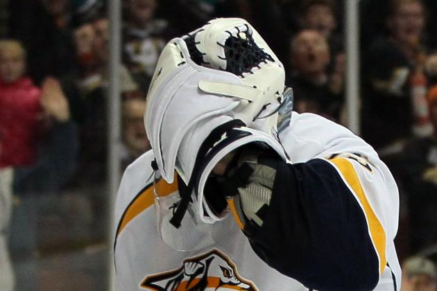 Nashville Predators Lose in Shootout to Anaheim Ducks