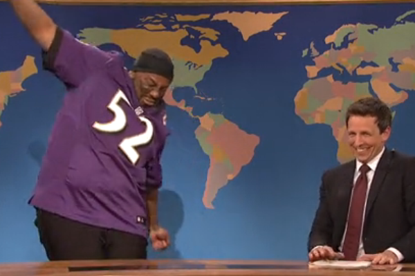 'SNL' Lampoons Ray Lewis