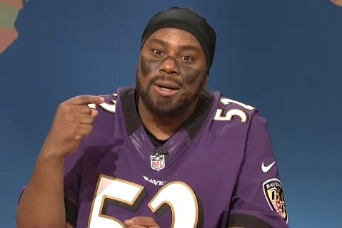SNL Spoofs Ray Lewis