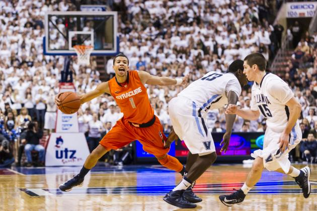 Syracuse Basketball: Did Stalling Strategy at End of Game Cost Orange at 'Nova?
