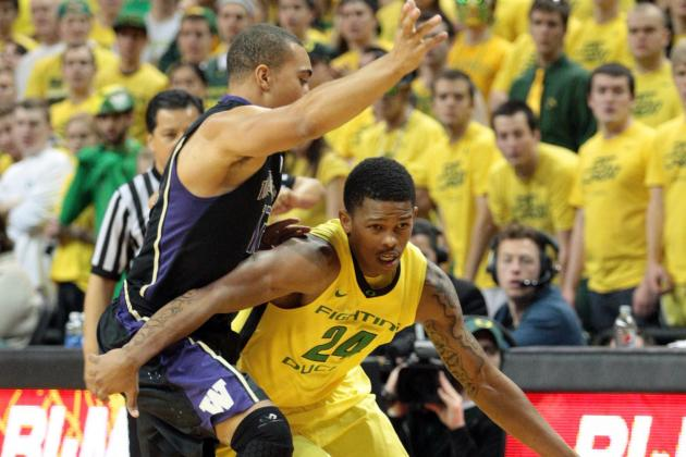 Oregon Defeats Washington 81-76,Despite Season High 23 Turnovers