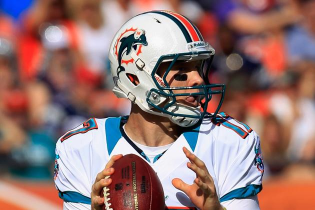 Miami Might Spend a Mid- or Lower-Round Draft Pick on QB