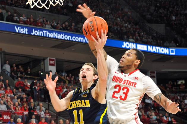 Nik Stauskas Adjusting to Big Ten Play